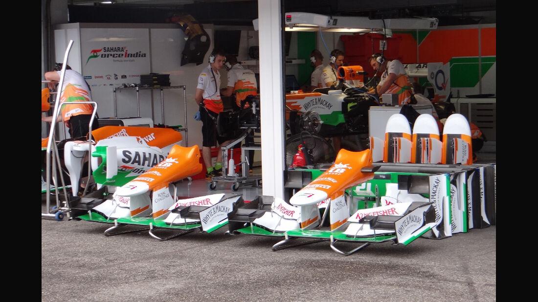 Force India - Formel 1 - GP Deutschland - 19. Juli 2012