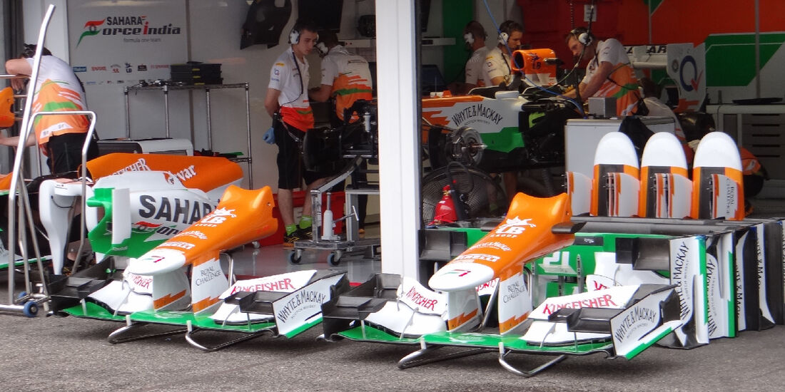 Force India - Formel 1 - GP Deutschland - 19. Juli 2012