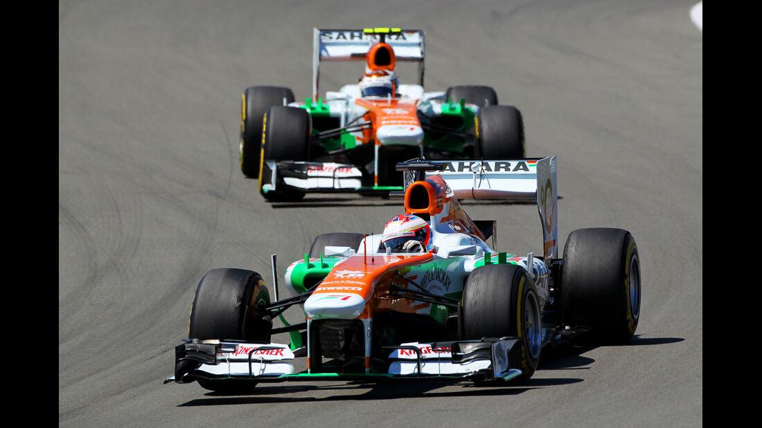 Force India - Formel 1 - GP Deutschland 2013
