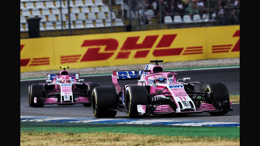 Force India - Formel 1 -GP Deutschland 2018