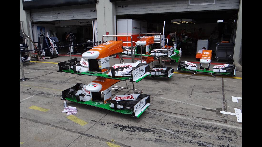 Force India - Formel 1 - GP Deutschland - 4. Juli 2013
