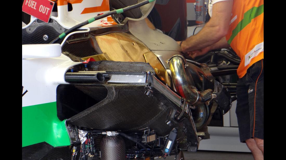 Force India - Formel 1 - GP Deutschland - 6. Juli 2013