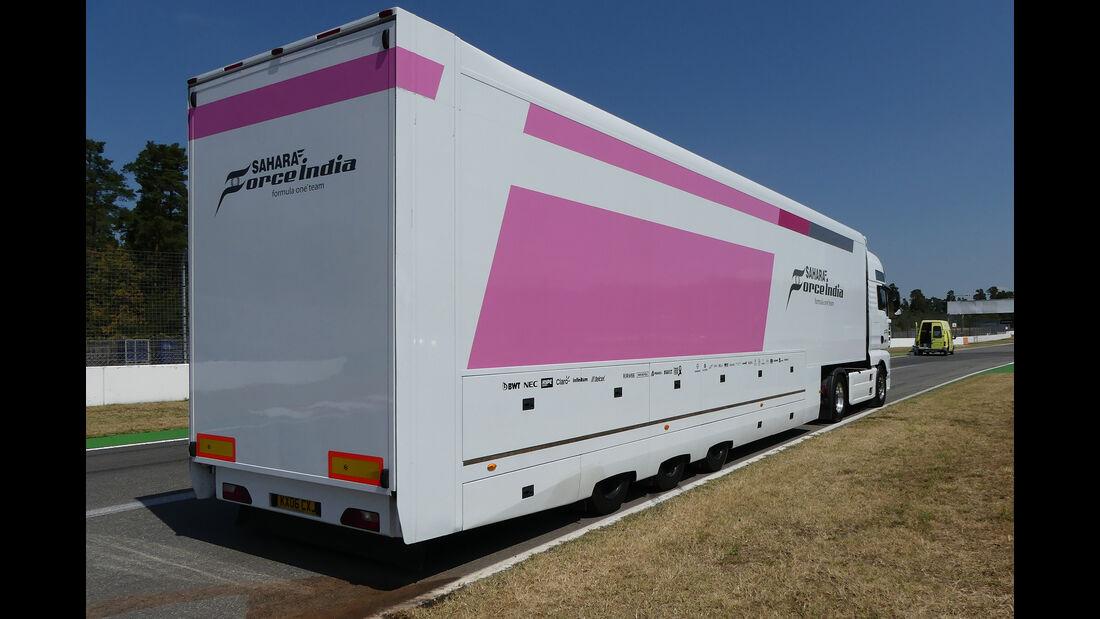 Force India - Formel 1 - GP Deutschland - Hockenheim - 18. Juli 2018