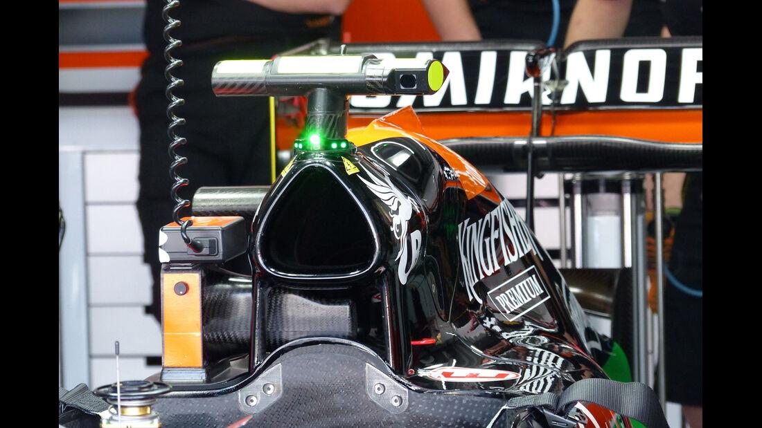 Force India - Formel 1 - GP Deutschland - Hockenheim - 19. Juli 2014