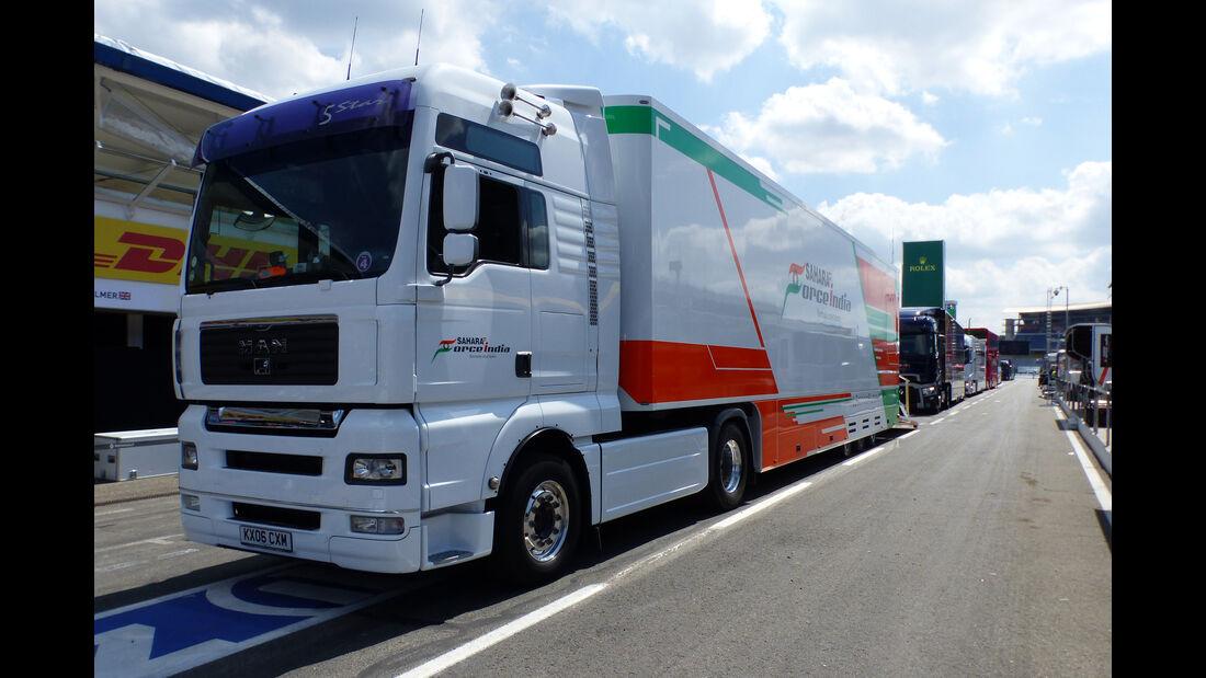 Force India - Formel 1 - GP Deutschland - Hockenheim - 27. Juli 2016