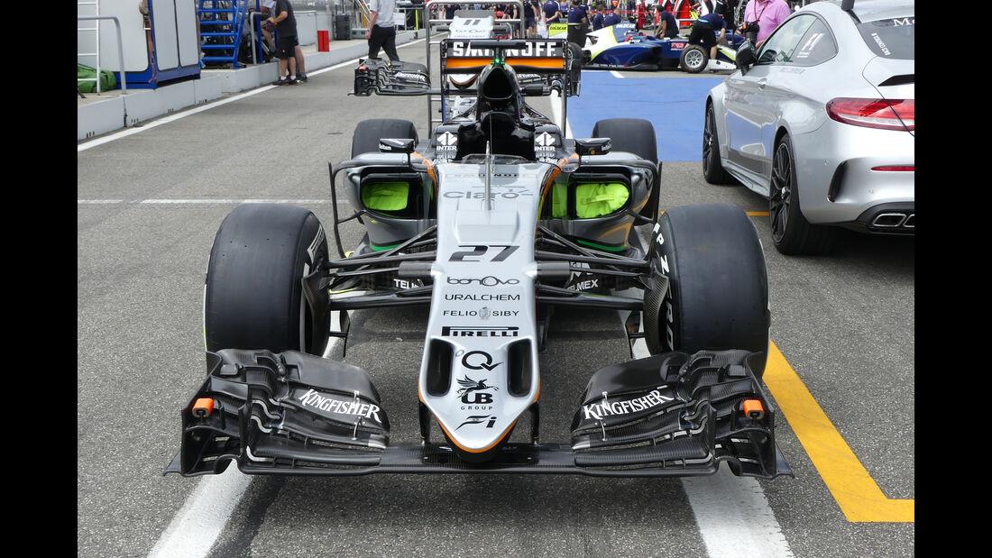 Force India - Formel 1 - GP Deutschland - Hockenheim - 28. Juli 2016