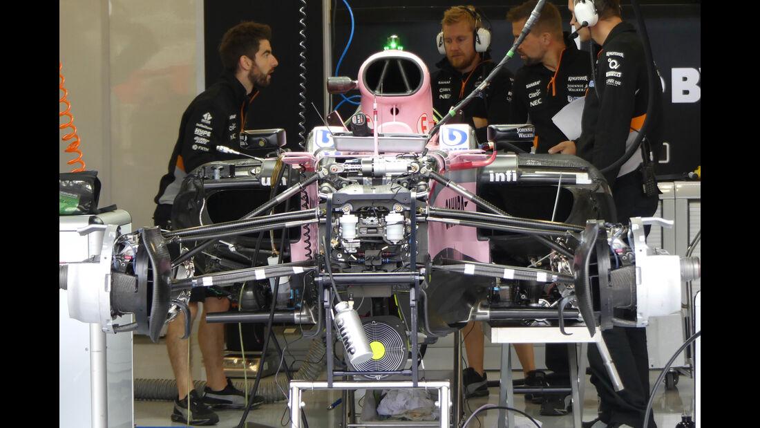 Force India - Formel 1 - GP England - 13. Juli 2017