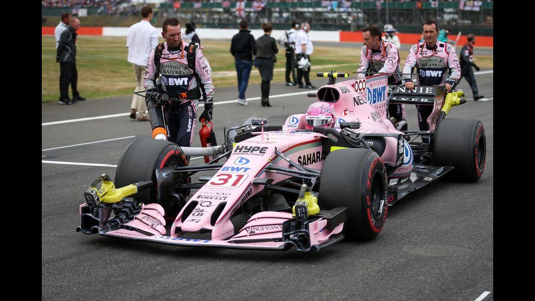 Force India - Formel 1 - GP England - 16. Juli 2017