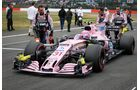 Force India - Formel 1 - GP England - 16. Juli 2017