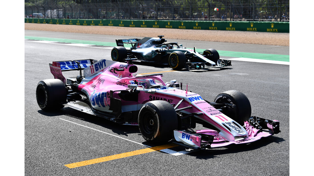 Force India - Formel 1 - GP England 2018