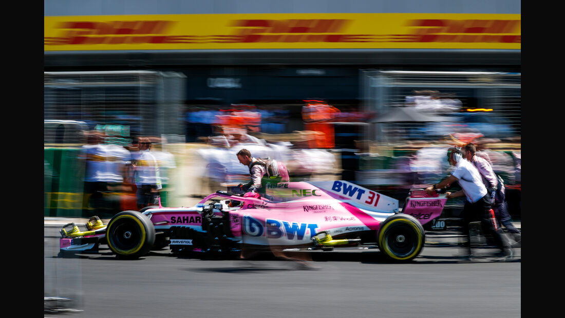 Force India - Formel 1 - GP England 2018