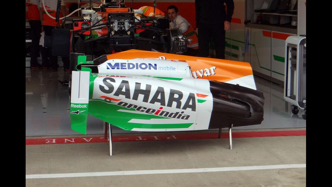 Force India - Formel 1 - GP England - 28. Juni 2013