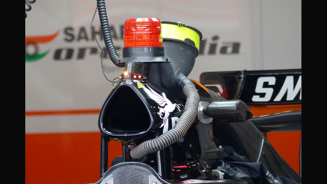 Force India - Formel 1 - GP England - Silverstone - 3. Juli 2014