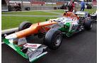 Force India - Formel 1 - GP England - Silverstone - 5. Juli 2012