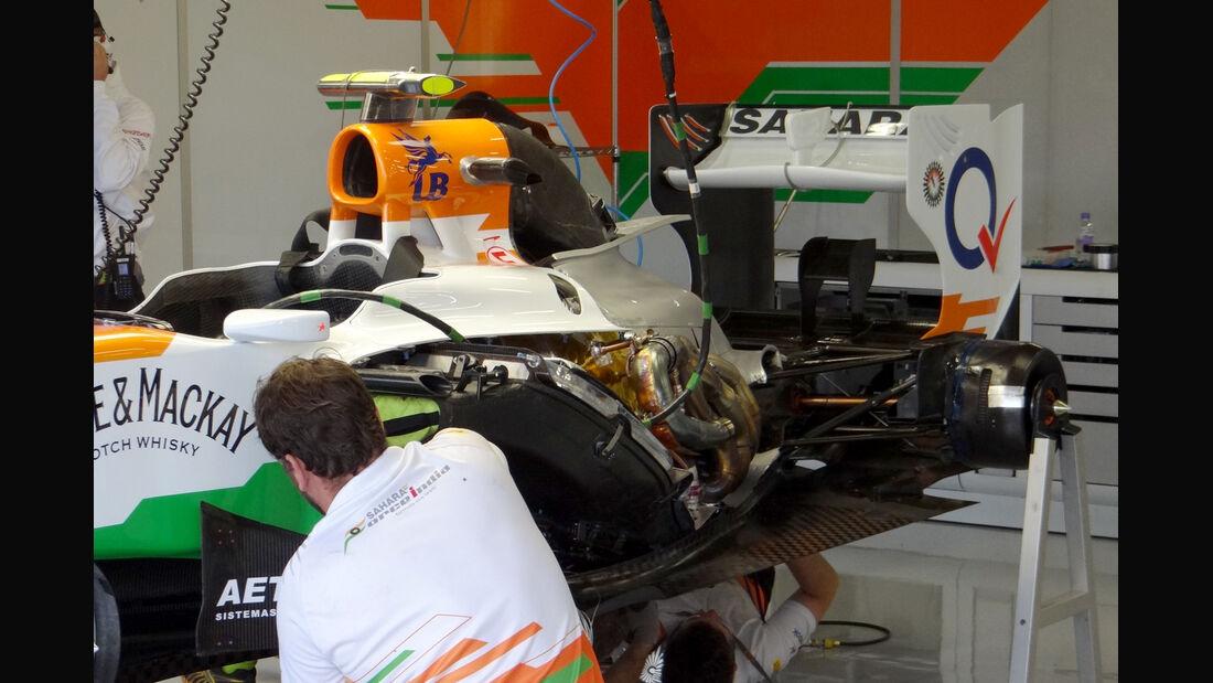 Force India - Formel 1 - GP England - Silverstone - 6. Juli 2012