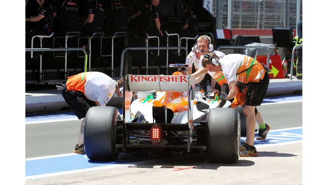 Force India  - Formel 1 - GP Europa - 23. Juni 2012