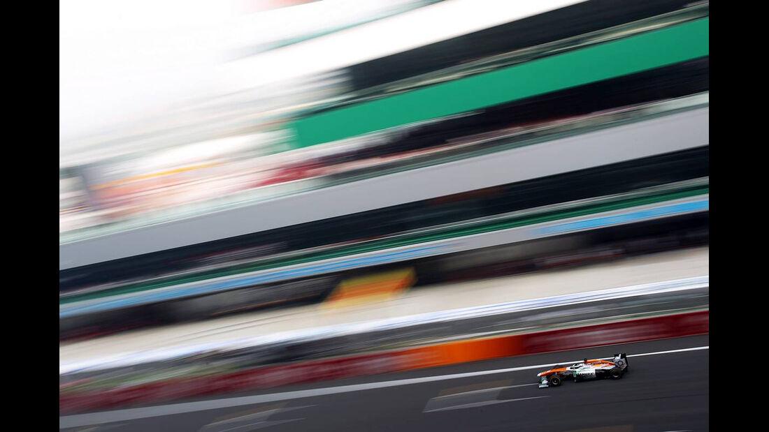 Force India - Formel 1 - GP Indien - 26. Oktober 2013