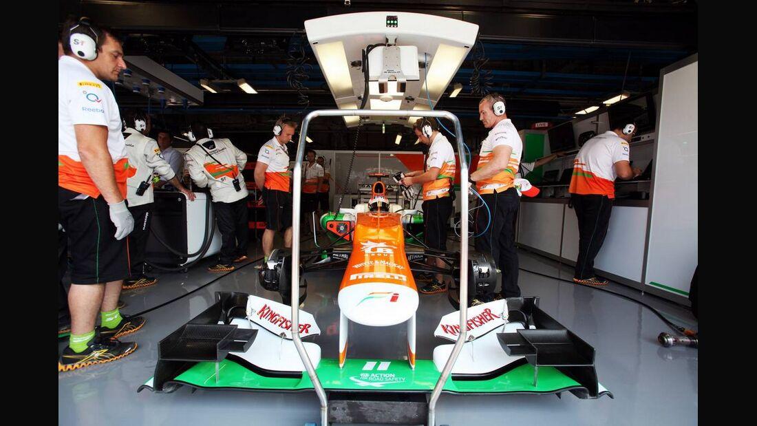 Force India - Formel 1 - GP Italien - 07. September 2012