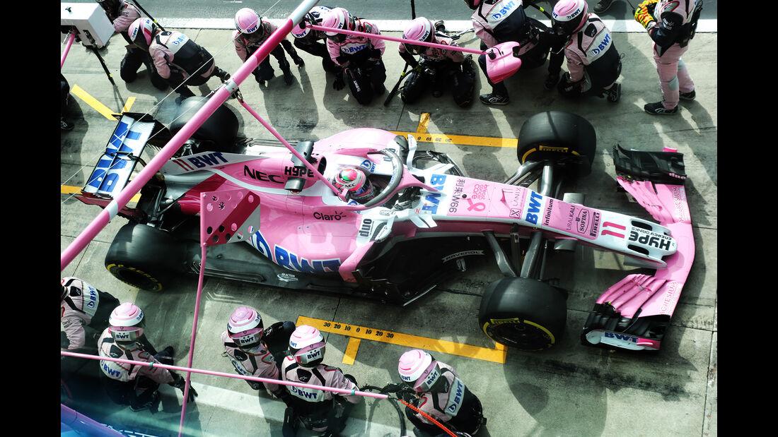 Force India - Formel 1 - GP Italien - 2018