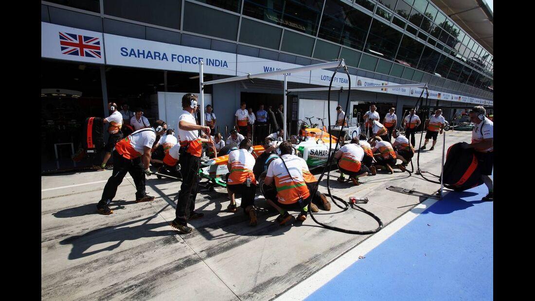 Force India - Formel 1 - GP Italien - 6. September 2012