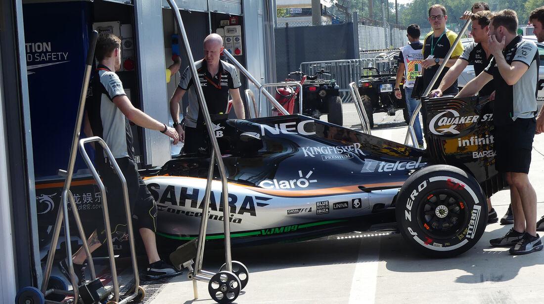Force India - Formel 1 - GP Italien - Monza - 1. September 2016