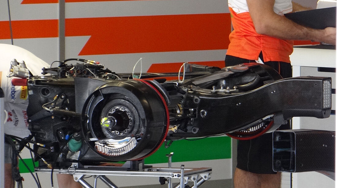 Force India - Formel 1 - GP Italien - Monza - 5. September 2013