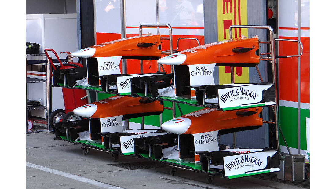 Force India - Formel 1 - GP Italien - Monza - 6. September 2013