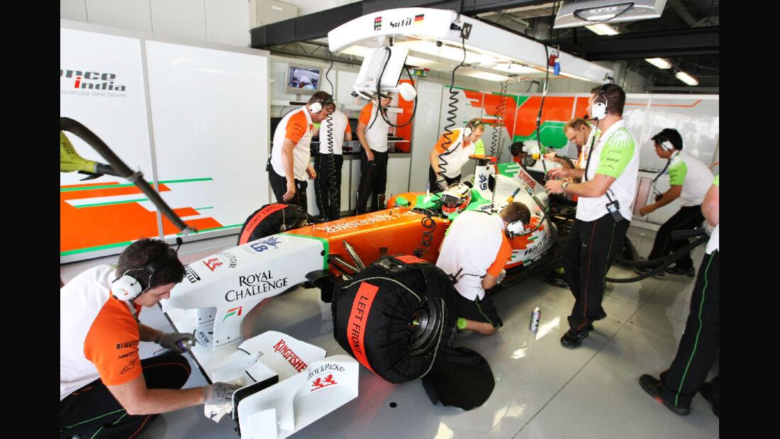 Force India  - Formel 1 - GP Japan - 07. Oktober 2011