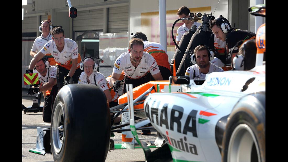 Force India - Formel 1 - GP Japan - 12. Oktober 2013