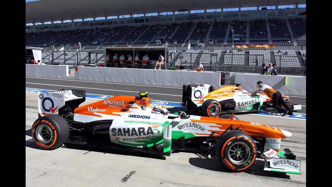 Force India - Formel 1 - GP Japan 2013