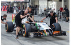 Force India - Formel 1 - GP Japan - 3. Oktober 2014