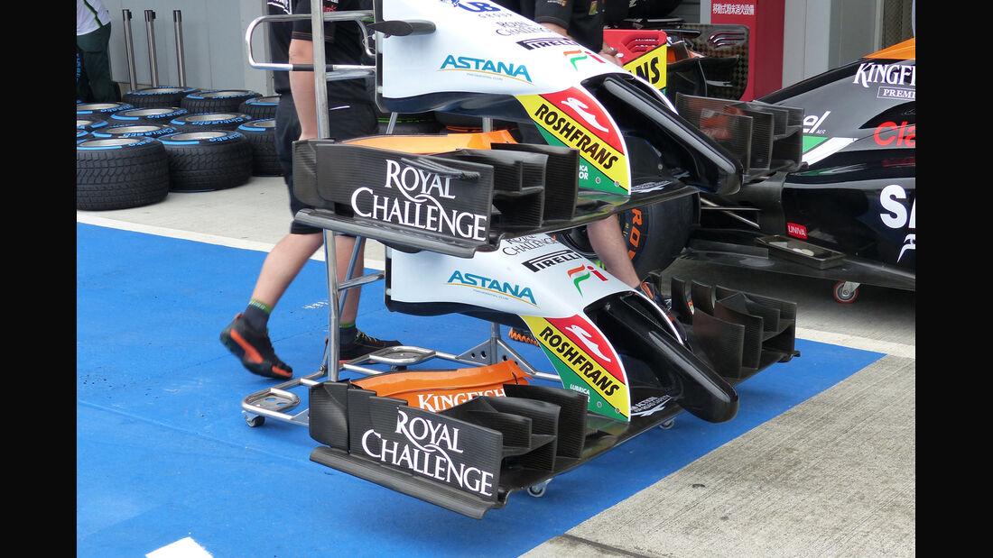 Force India - Formel 1 - GP Japan - Suzuka - 2. Oktober 2014