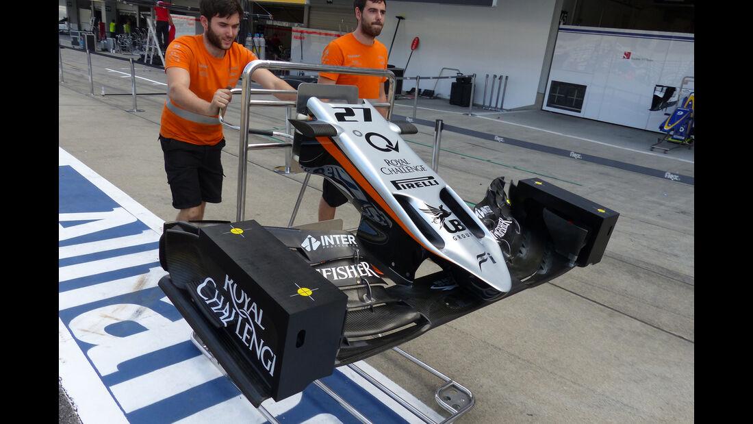 Force India - Formel 1 - GP Japan - Suzuka - 23. September 2015