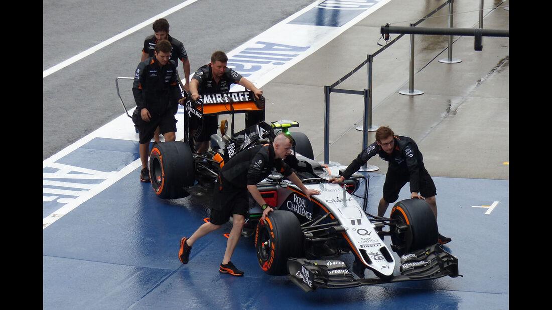 Force India - Formel 1 - GP Japan - Suzuka - 24. September 2015