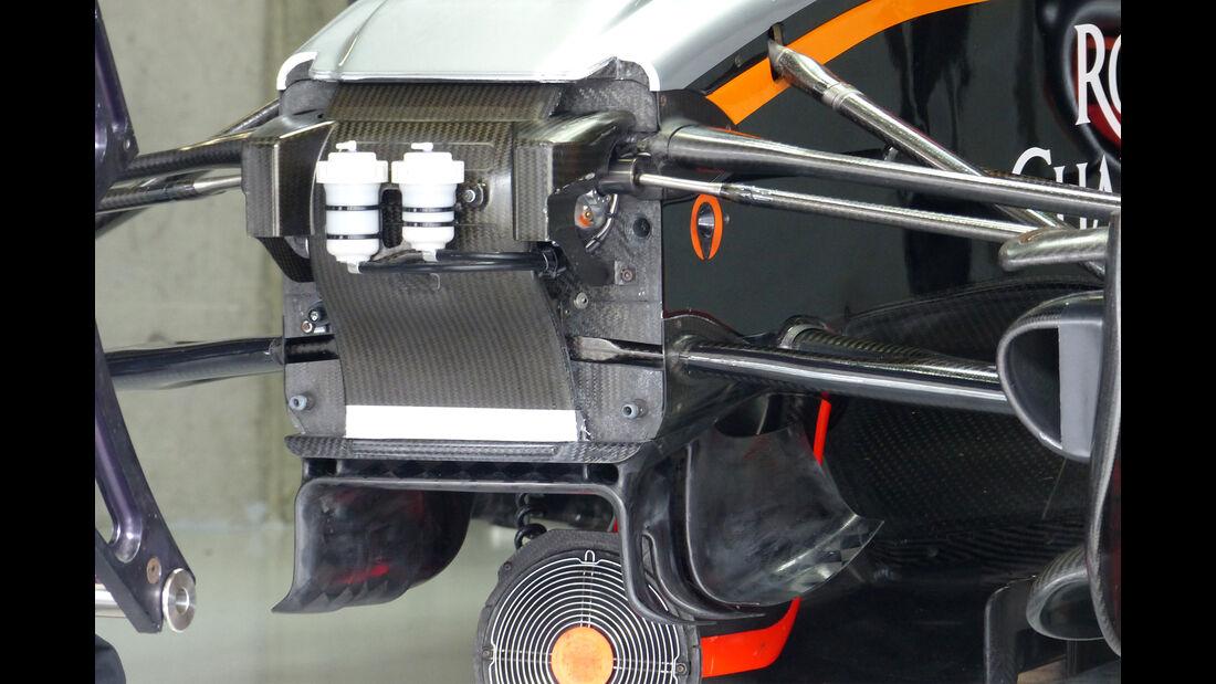 Force India - Formel 1 - GP Japan - Suzuka - 26. September 2015