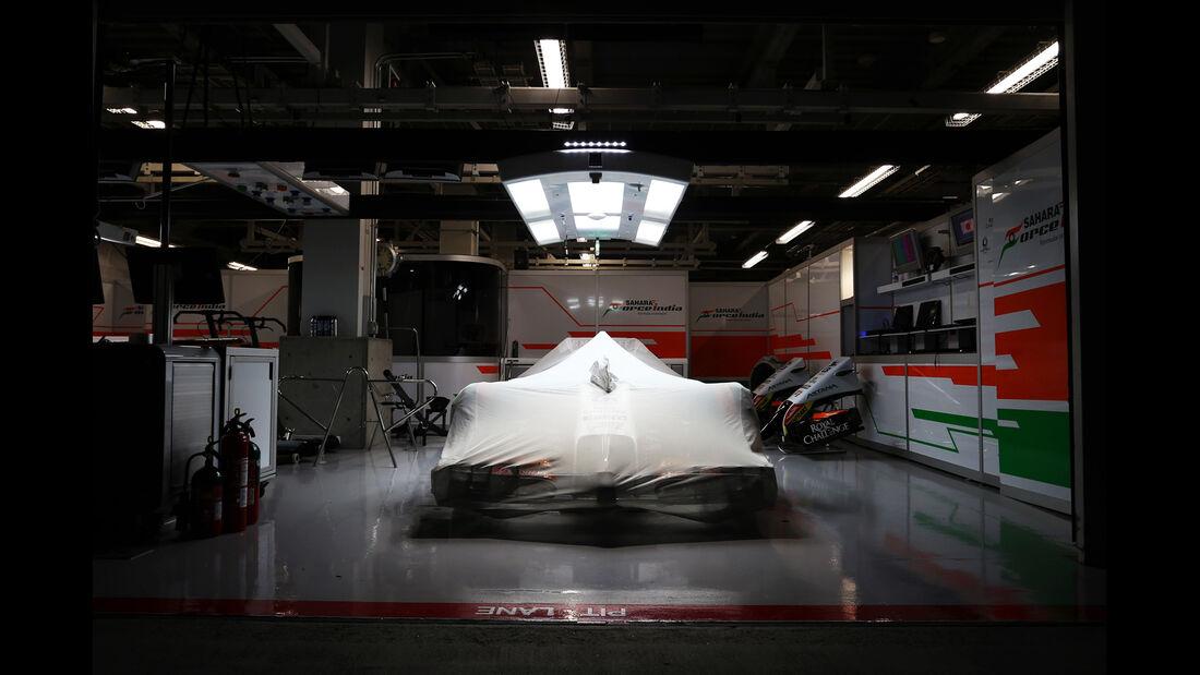 Force India - Formel 1 - GP Japan - Suzuka - 4. Oktober 2014