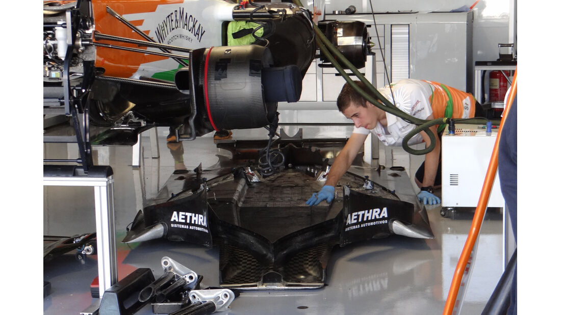 Force India - Formel 1 - GP Japan - Suzuka - 5. Oktober 2012