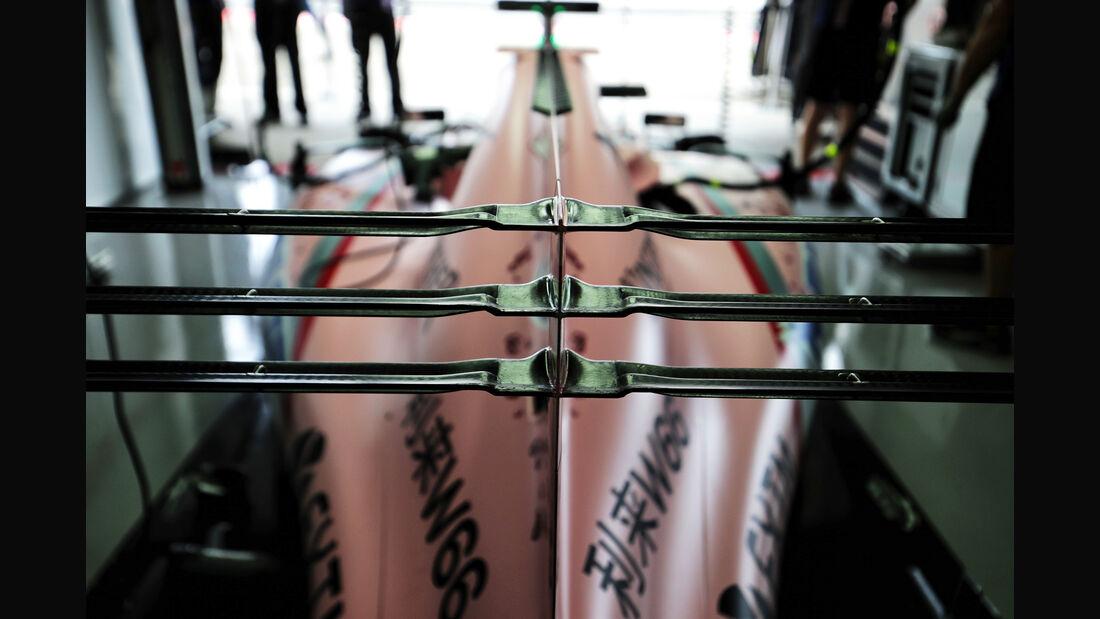 Force India - Formel 1 - GP Japan - Suzuka - 7. Oktober 2017