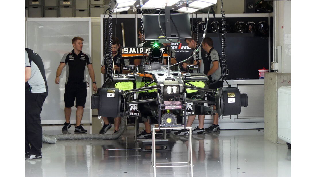 Force India - Formel 1 - GP Japan - Suzuka - Freitag - 7.10.2016