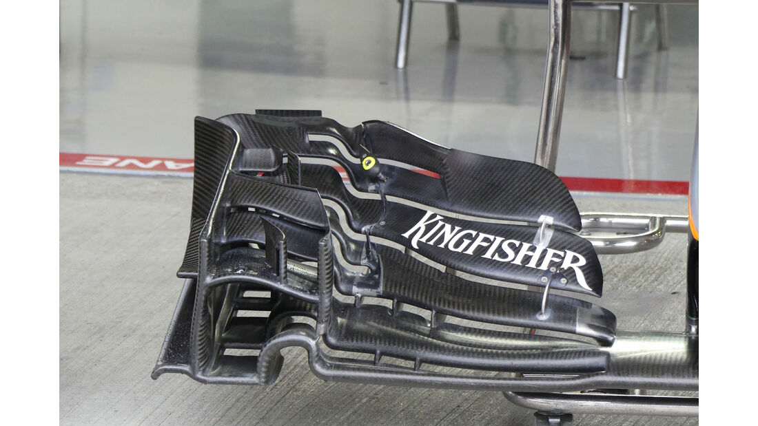 Force India - Formel 1 - GP Japan - Suzuka - Mittwoch - 5.10.2016