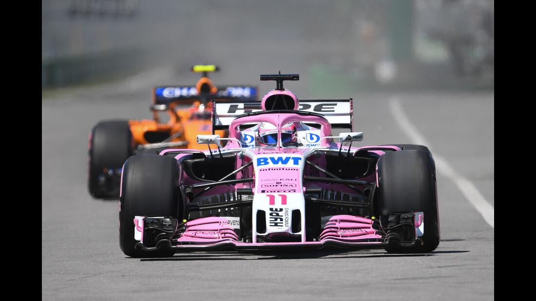 Force India - Formel 1 - GP Kanada 2018