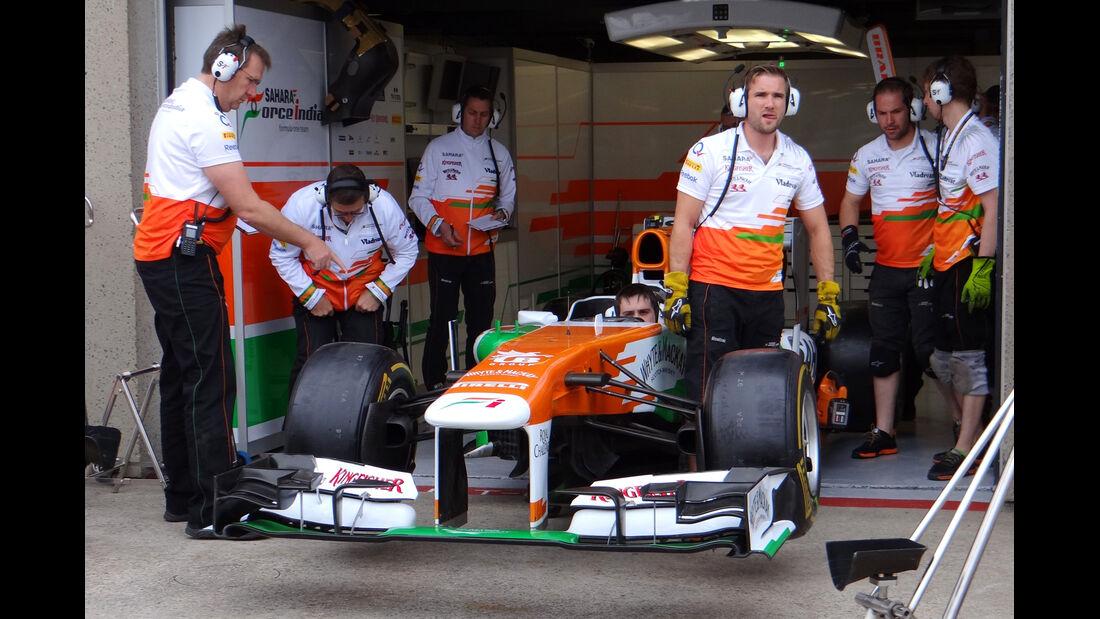 Force India - Formel 1 - GP Kanada - 6. Juni 2013