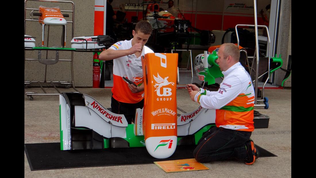 Force India - Formel 1 - GP Kanada - 7. Juni 2013
