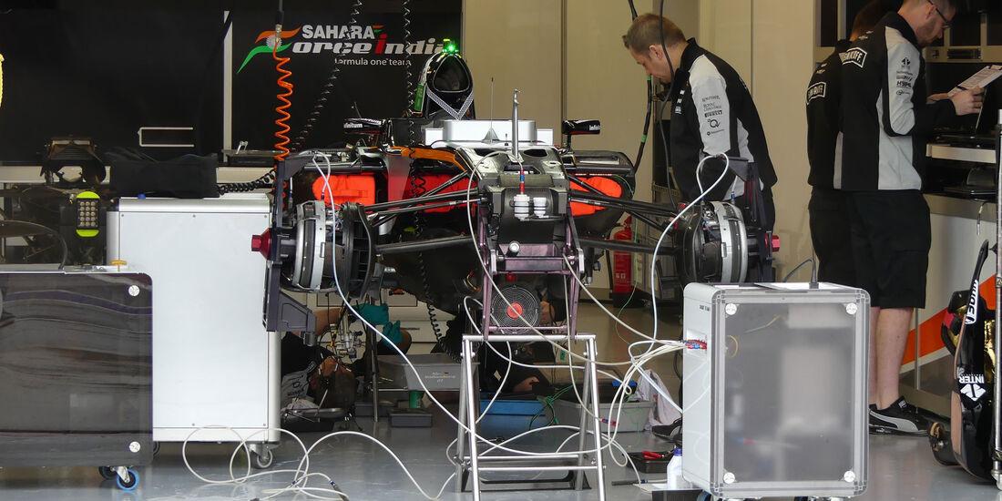 Force India - Formel 1 - GP Kanada - Montreal - 9.6.2016