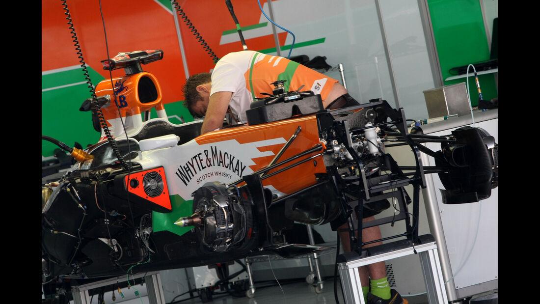 Force India - Formel 1 - GP Korea - 11. Oktober 2012