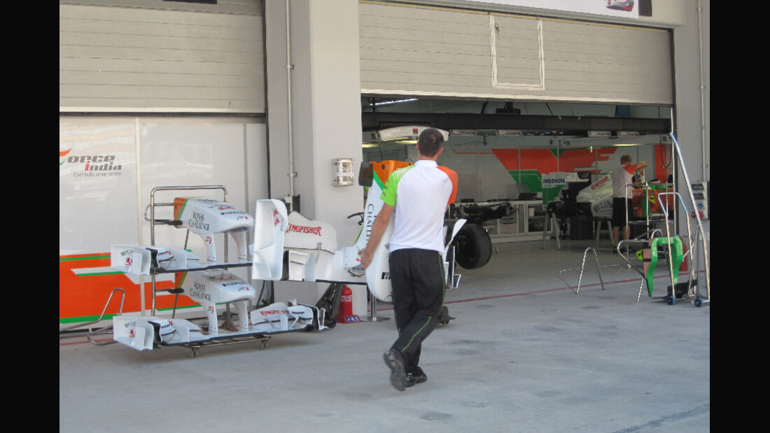 Force India - Formel 1 - GP Korea - 13. Oktober 2011