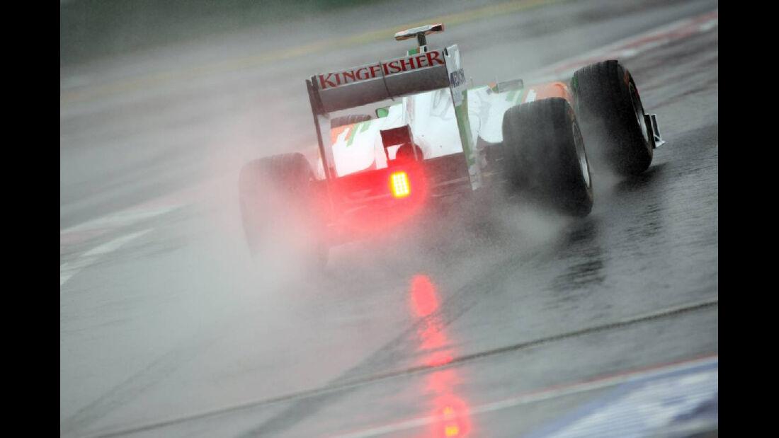 Force India - Formel 1 - GP Korea - 14. Oktober 2011