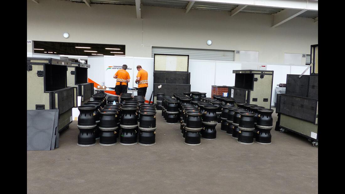 Force India - Formel 1 - GP Mexico - 28. Oktober 2015
