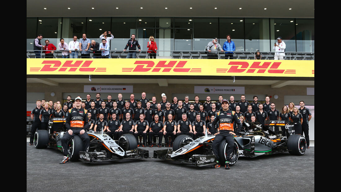 Force India - Formel 1 - GP Mexiko - 31. Oktober 2015