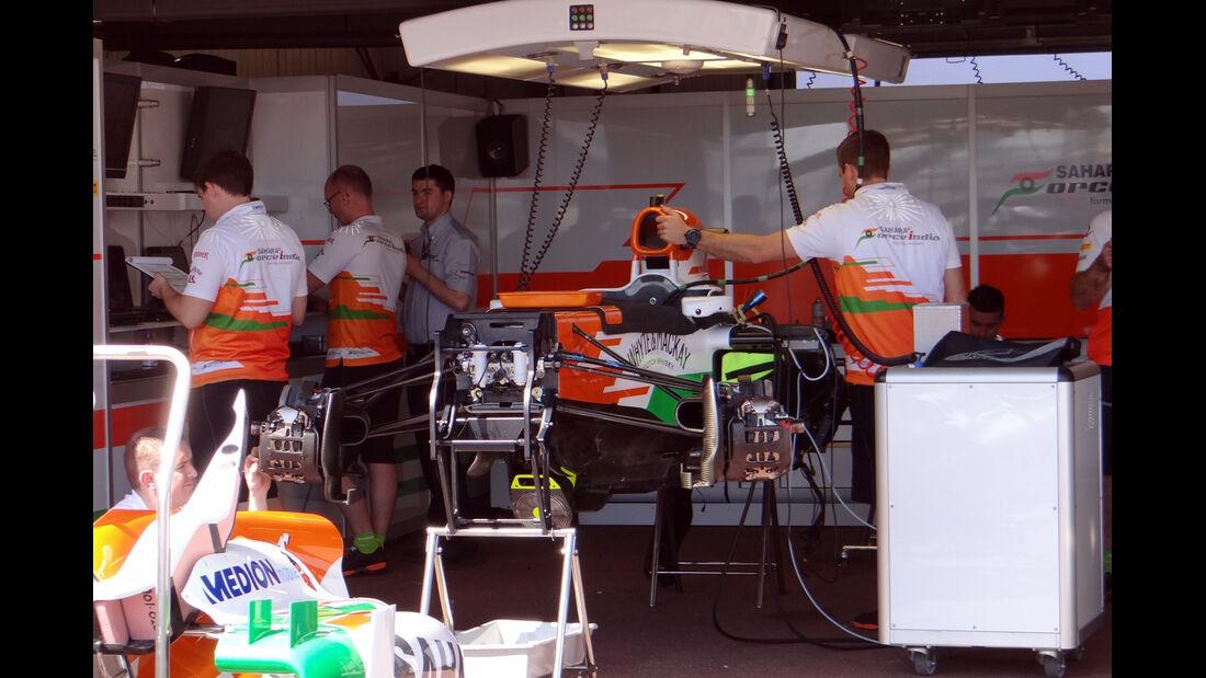 Force India - Formel 1 - GP Monaco - 22. Mai 2013